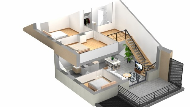 Vendita appartamento Villaz 344000€ - Fotografia 7
