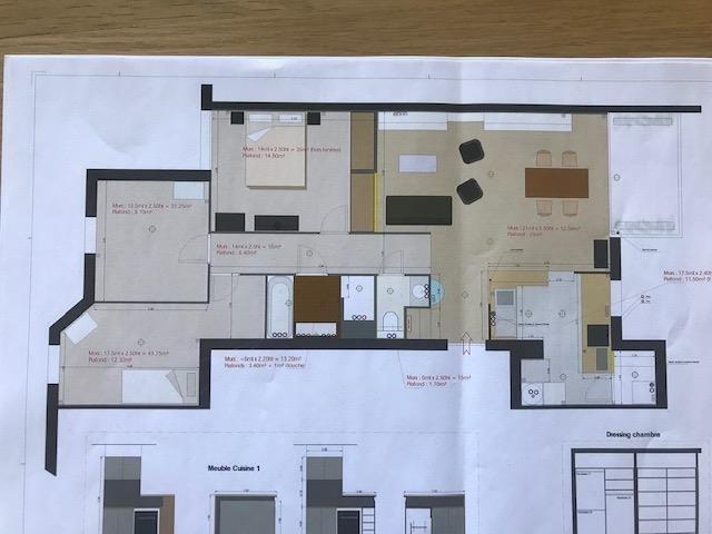 Sale apartment Lyon 7ème 380000€ - Picture 3