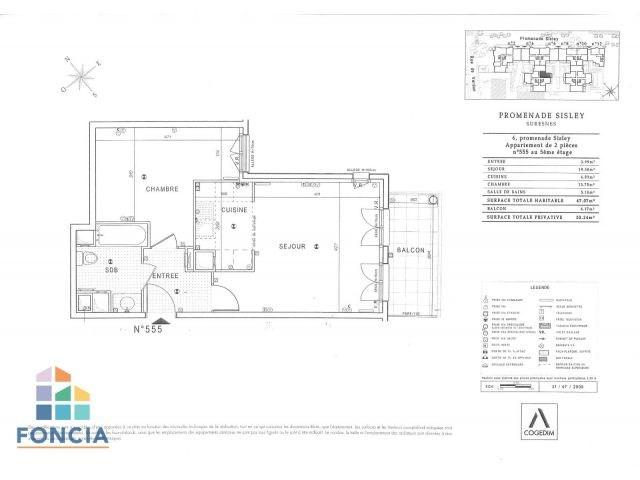 Location appartement Suresnes 1315€ CC - Photo 11