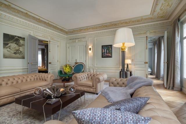 Vente de prestige appartement Paris 8ème 7500000€ - Photo 2