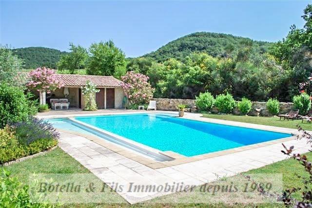Verkoop van prestige  huis Uzes 985000€ - Foto 2
