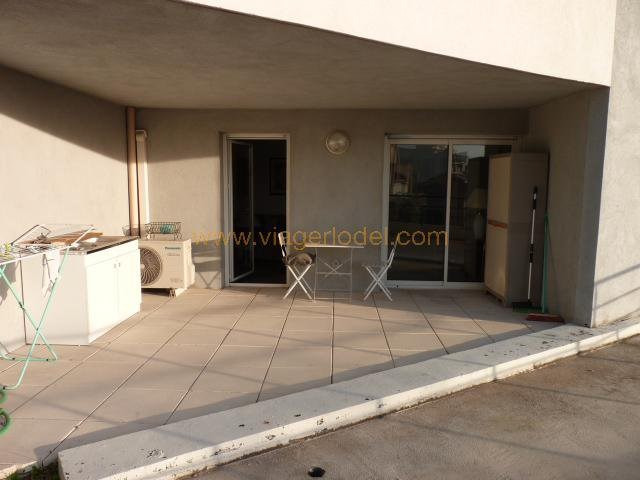 Vendita nell' vitalizio di vita appartamento Marseille 4ème 35000€ - Fotografia 3