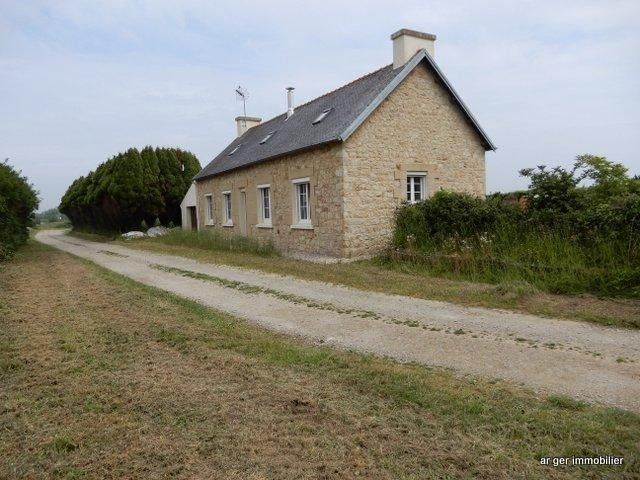 Sale house / villa St jean du doigt 109140€ - Picture 1
