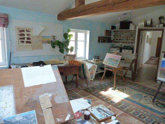 Vendita nell' vitalizio di vita casa Tourrettes-sur-loup 265000€ - Fotografia 7