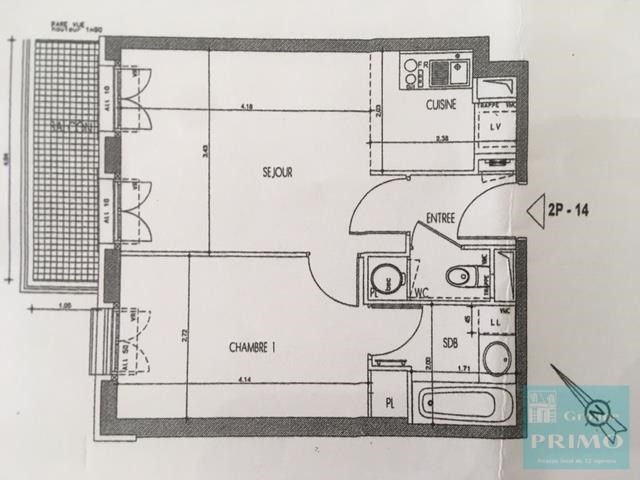 Vente appartement Le plessis robinson 263000€ - Photo 7