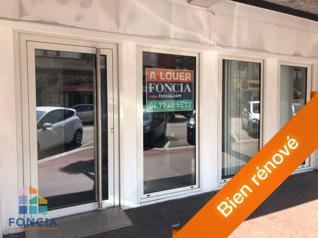Location local commercial Firminy 675€ CC - Photo 1