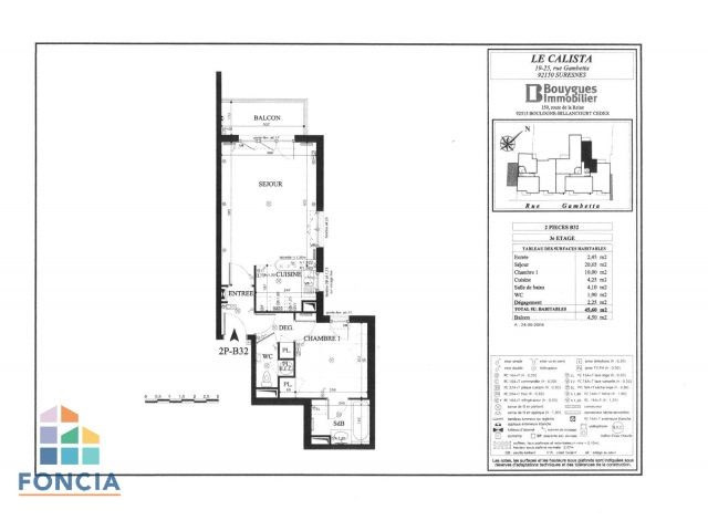 Location appartement Suresnes 1300€ CC - Photo 12