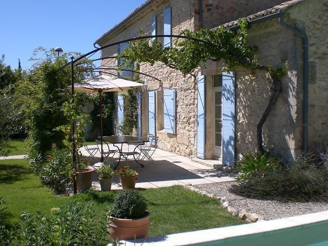 Deluxe sale house / villa Molleges 735000€ - Picture 1