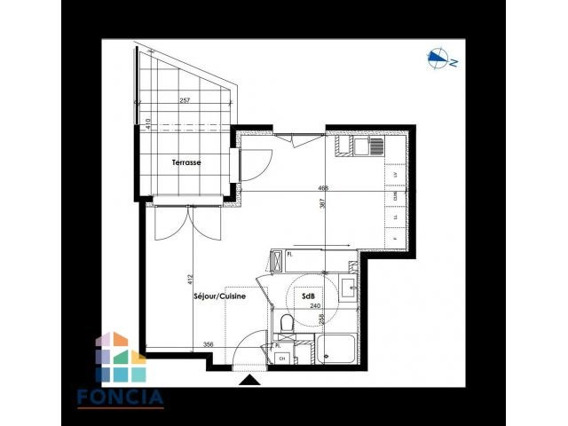 Investment property apartment Dardilly 205 000€ - Picture 2