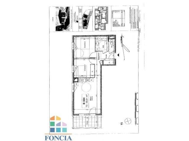 Location appartement Saint-alban-leysse 745€ CC - Photo 1