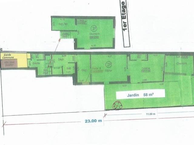 Produit d'investissement appartement Romainville 300000€ - Photo 1