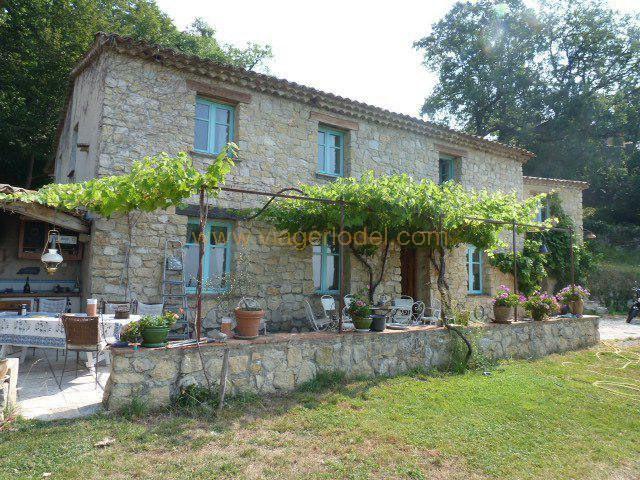 Verkauf auf rentenbasis haus Tourrettes-sur-loup 265000€ - Fotografie 3