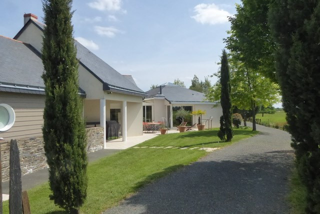 Maison contemporaine de plain-pied