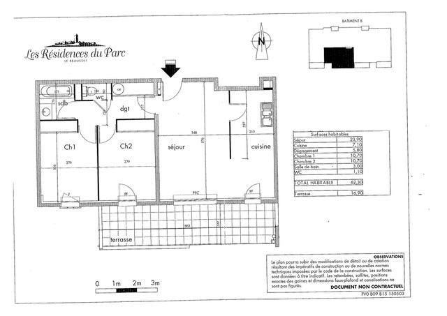 Vente appartement Le beausset 239000€ - Photo 8