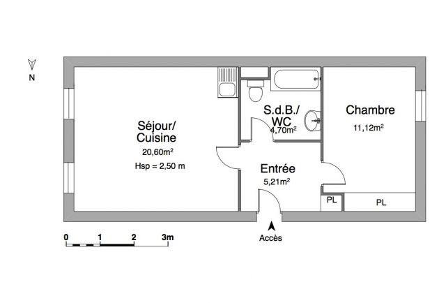 Verhuren  appartement Chambéry 570€ CC - Foto 5