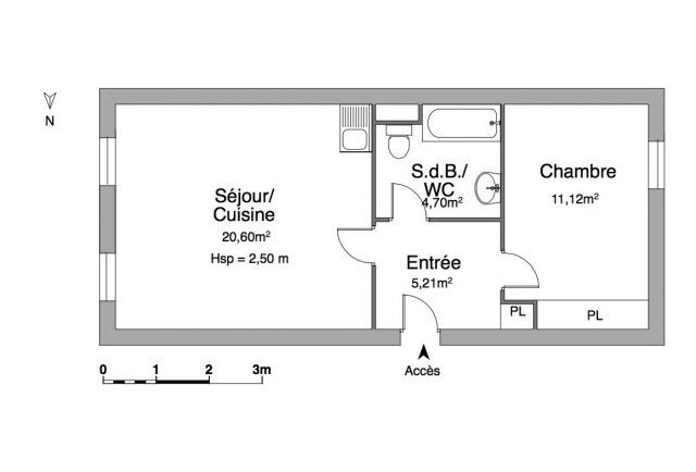 Alquiler  apartamento Chambéry 570€ CC - Fotografía 5