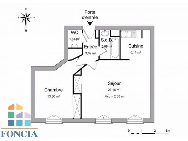 Vente appartement Lyon 3ème 204500€ - Photo 8