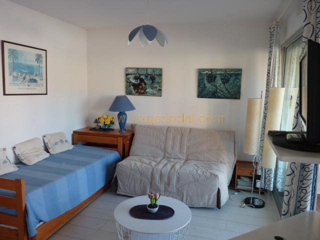 Life annuity apartment Le lavandou 28000€ - Picture 1