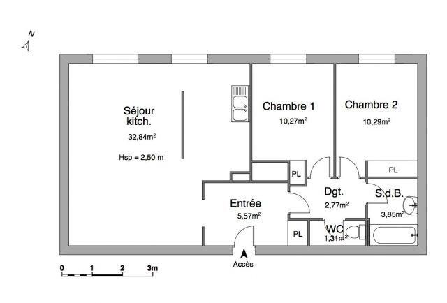 Location appartement La ravoire 793€ CC - Photo 7