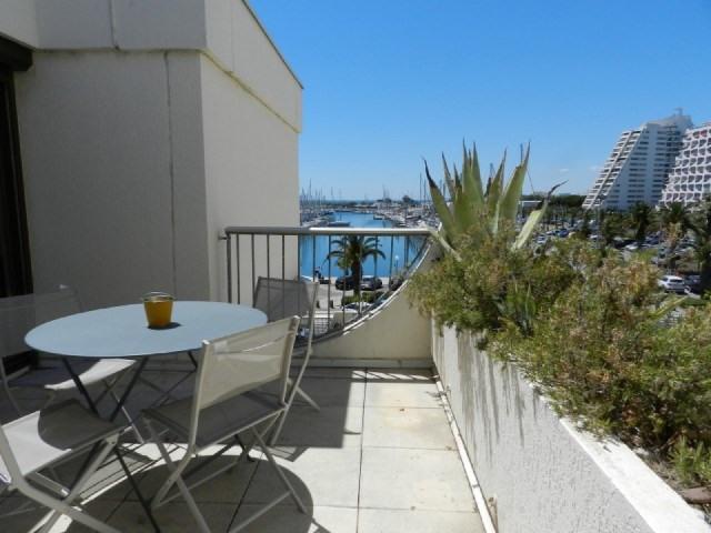 Location vacances appartement La grande motte 520€ - Photo 1