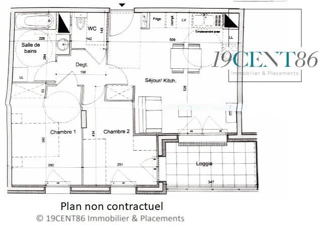 Venta  apartamento Lyon 8ème 177000€ - Fotografía 11