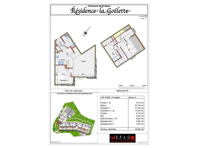 Location appartement St denis 779€ CC - Photo 2