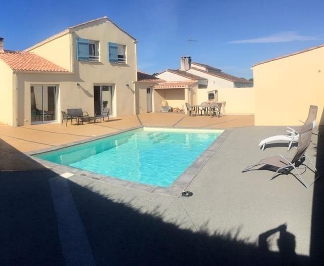 Vente maison / villa St vincent sur jard 338000€ - Photo 1