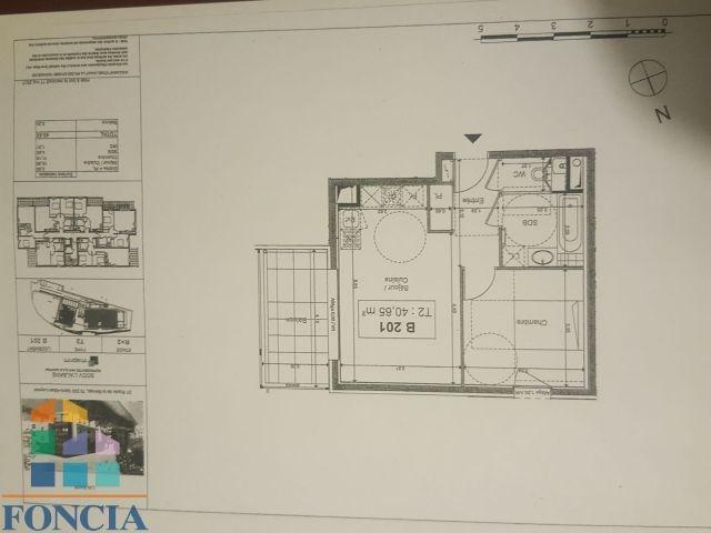 Locação apartamento Saint-alban-leysse 533€ CC - Fotografia 1