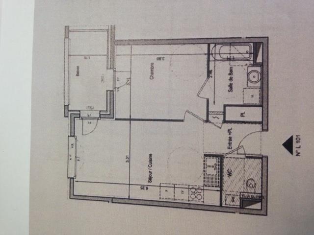 Rental apartment La ravoire 570€ CC - Picture 1