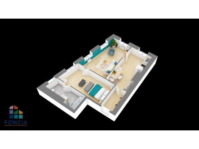 Sale apartment Tarare 59000€ - Picture 5