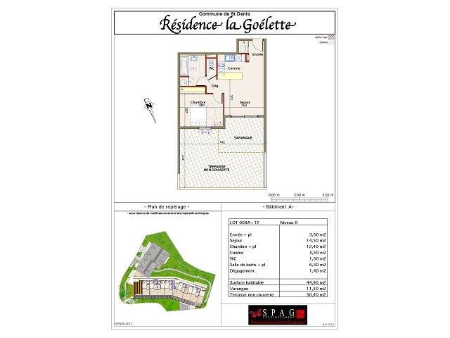 Location appartement St denis 584€ CC - Photo 5