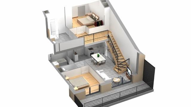 Sale apartment Villaz 302000€ - Picture 8