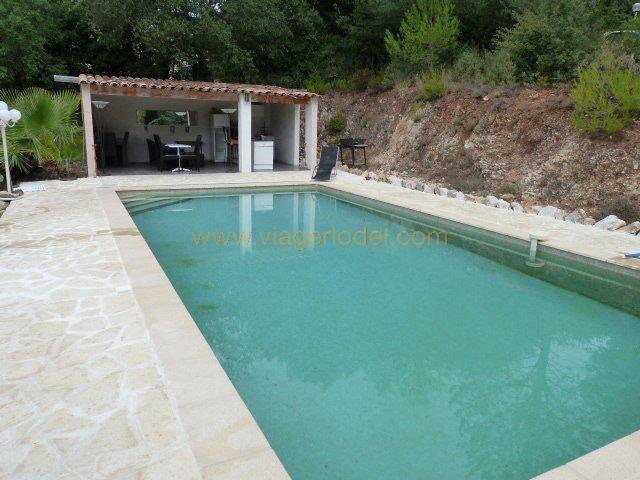 Vitalicio  casa Roquefort-les-pins 460000€ - Fotografía 2