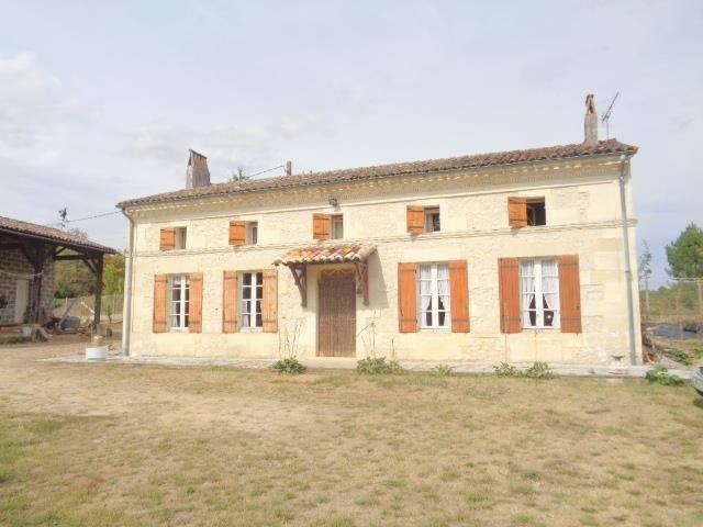 Vente maison / villa Lapouyade 187000€ - Photo 1