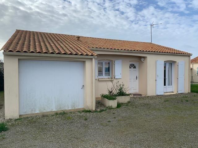Vente maison / villa St vincent sur jard 197600€ - Photo 1