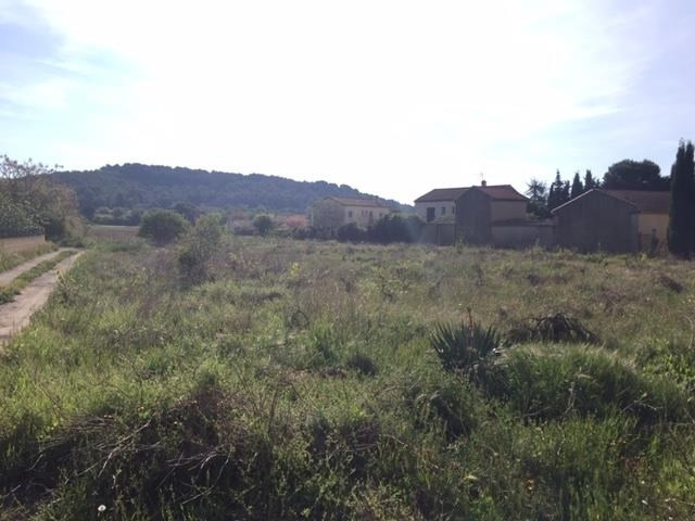 Venta  terreno Lignan sur orb 89500€ - Fotografía 2