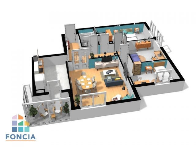Vente appartement Lyon 7ème 295000€ - Photo 7