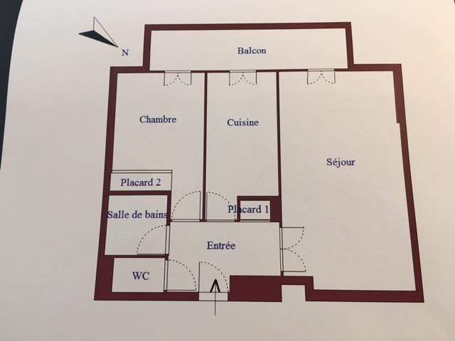 Sale apartment Nimes 107000€ - Picture 3