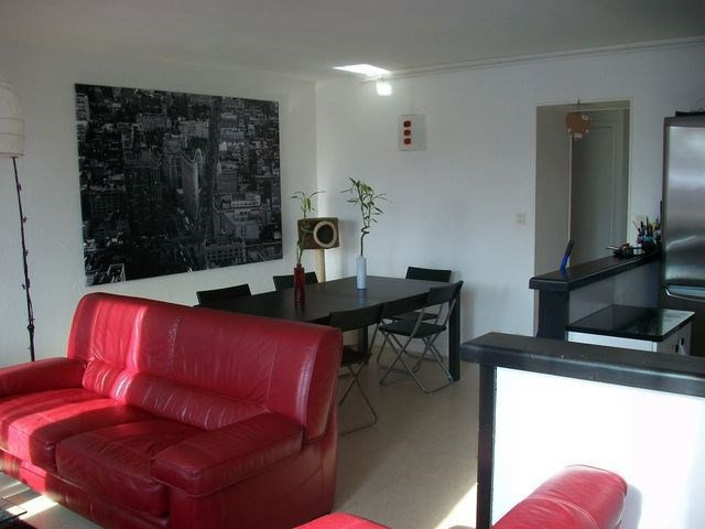 Rental apartment Roche-la-moliere 390€ CC - Picture 1