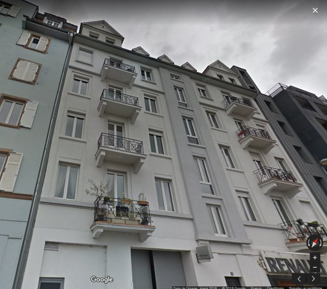 Rental apartment Strasbourg 645€ +CH - Picture 1