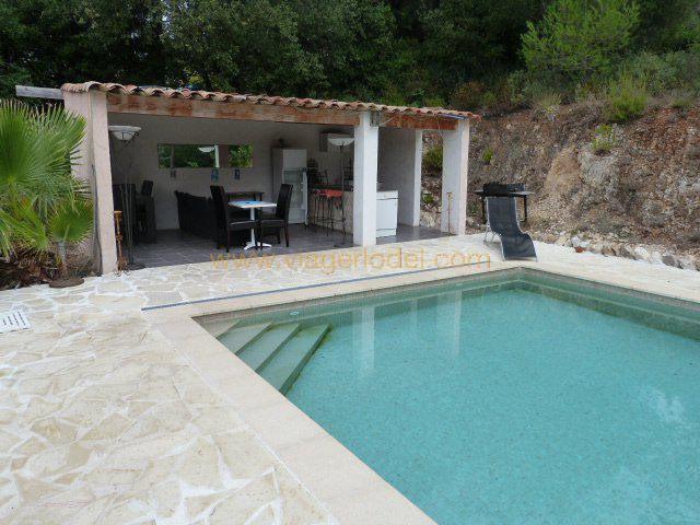 Vitalicio  casa Roquefort-les-pins 460000€ - Fotografía 4