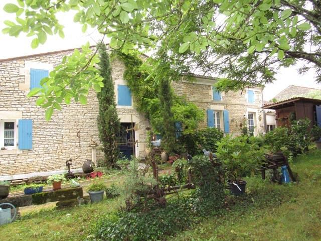 Vente maison / villa Asnières-la-giraud 468000€ - Photo 1