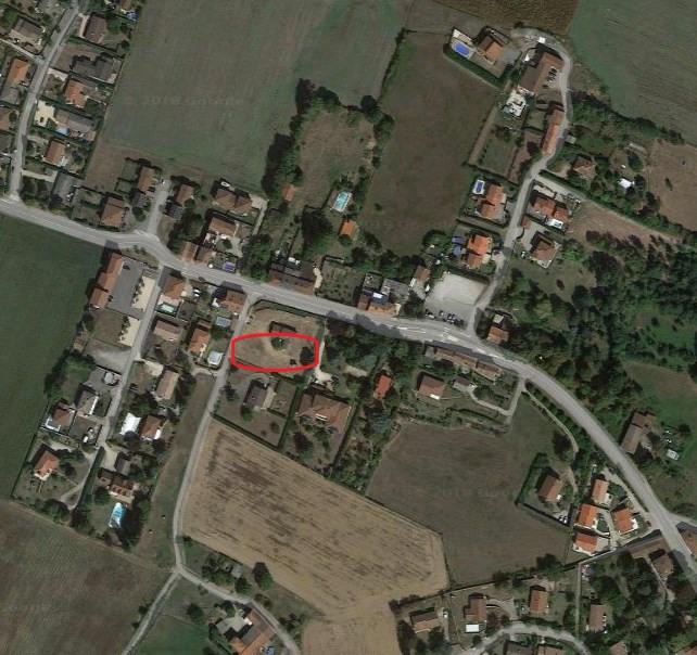 Vente terrain Estrablin 130000€ - Photo 1