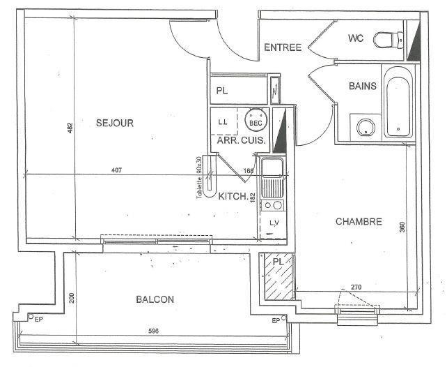 Produit d'investissement appartement Pornichet 180200€ - Photo 2