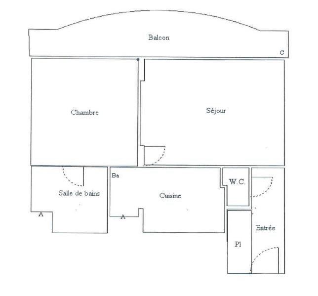 Vente appartement Chaville 236000€ - Photo 9