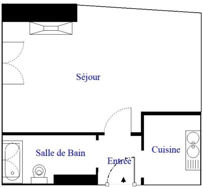 Studio - 18m²