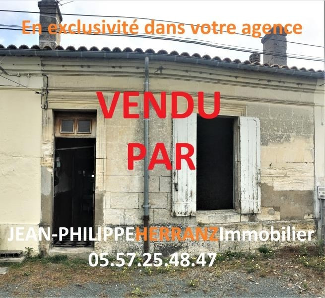 Vente maison / villa Libourne 82 000€ - Photo 1