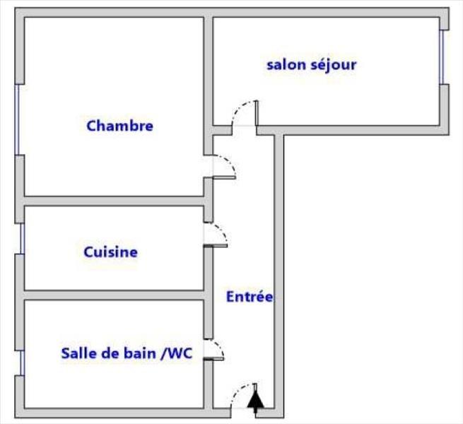 Sale apartment Paris 18ème 299000€ - Picture 6