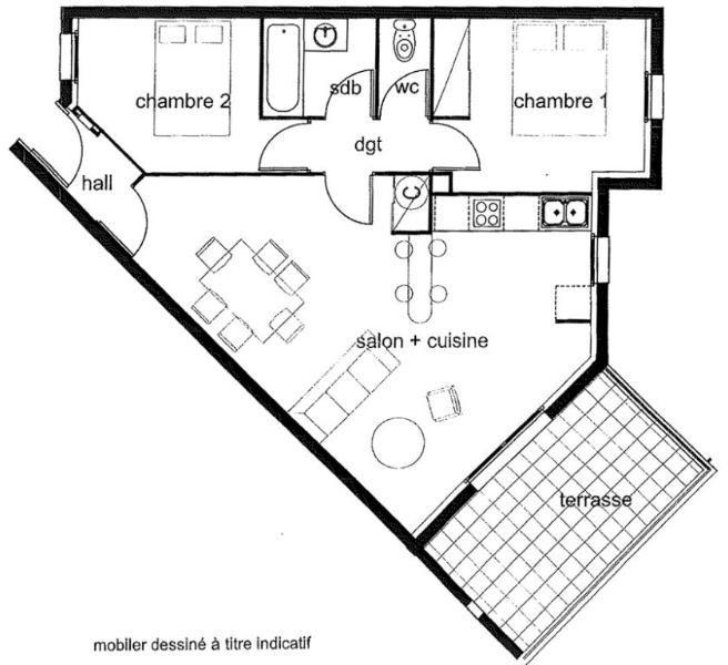 Rental apartment Frouzins 639€ CC - Picture 3