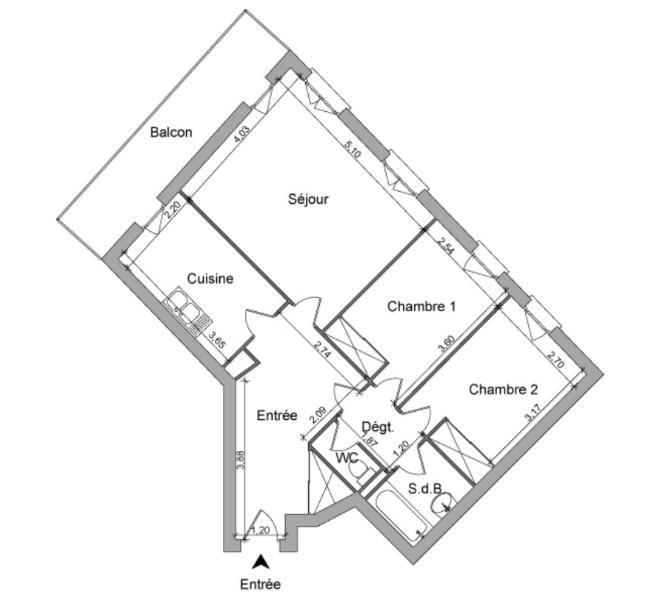Location appartement Villefranche sur saone 735€ CC - Photo 6